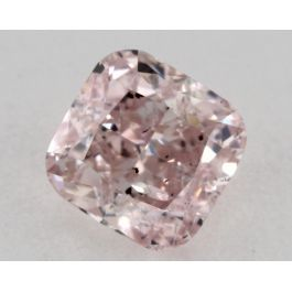 1.01 Carat, Natural Fancy Light Pink, Cushion Shape, I1 Clarity, GIA