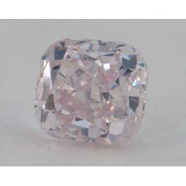 0.28 Carat, Natural Pink, Cushion Shape, SI2 Clarity, IGI