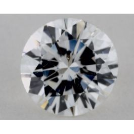 0.67 Carat Diamond, F Color, Round Shape, SI1 Clarity, GIA