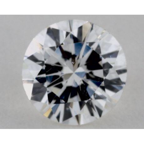 0.67 Carat Diamond, F Color, Round Shape, SI1 Clarity, GIA
