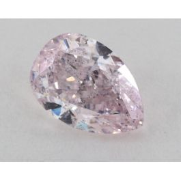 1.86 Carat, Natural Fancy Light Purplish Pink, Pear Shape, I1 Clarity, GIA