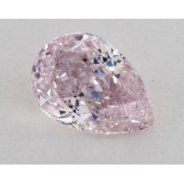 0.60 Carat, Natural Fancy Purplish Pink, Pear Shape, SI1 Clarity, GIA