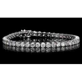 5.02 carat, Tennis Bracelet, G-H Color, 9gr. 14K Gold