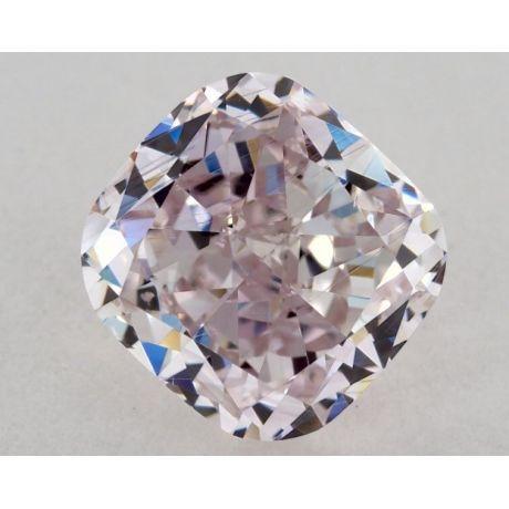 1.83 carat, Fancy Purplish Pink, VS1 Clarity, Cushion, GIA