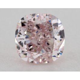 1.10 carats, Fancy Purplish Pink Diamonds, SI Clarity, Cushion Shape, GIA
