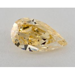 1.37 Carat, Natural FAncy Orange-Yellow, IF Clarity, Pearshape, GIA