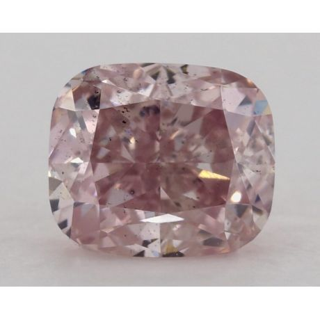 1.13 Carat, Natural Fancy Purplish Pink, SI1 Clarity, Cushion, GIA