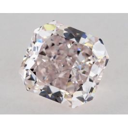 0.74 Carat, Fancy Light Pink, Radiant, VVS2 Clarity, GIA