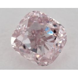 0.74 Carat, Natural Fancy Light Pink, VS2 Clarity, Cushion, GIA