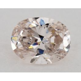 0.38 Carat, Natural Light Pink, Oval Shape, SI1 Clarity, GIA