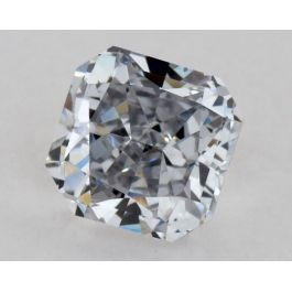 0.35 Carat, Natural Fancy Light Gray-Blue, VS2 Clarity, Radiant Shape, GIA