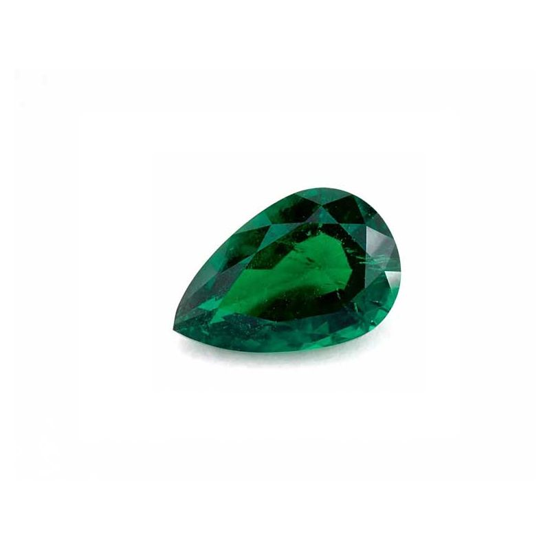 Carats, Natural Beryl Emerald, F1, Pearshape, GIA