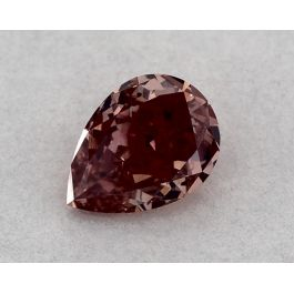 0.40 Carat, Fancy Deep Pink, SI1 Clarity, Pear shape, GIA