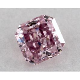 0.17 Carat, ARGYLE, Natural Fancy Intense Purplish Pink, Radiant Shape, VS2 clarity, GIA
