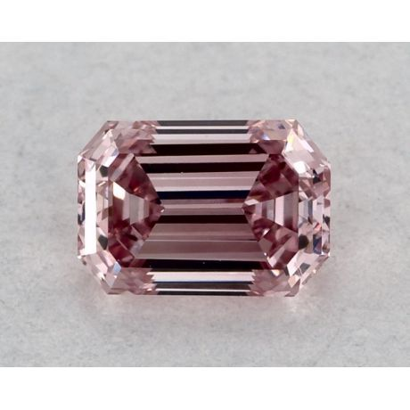 0.20 Carat, ARGYLE, Natural Fancy Intense Pink, Emerald Cut, VS1 Clarity, GIA