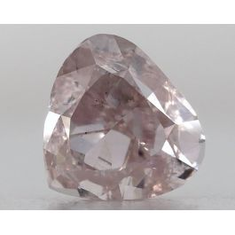 1.00 Carat, Natural Fancy Light Pink, Heart Shape, SI1 Clarity, GIA