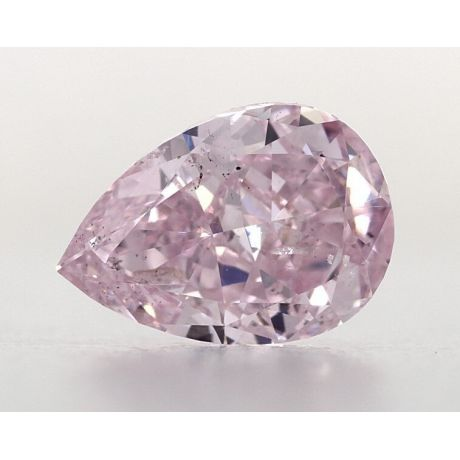 0.90 Carat, Natural Fancy Purple-Pink, Pear Shape, SI2 Clarity, GIA