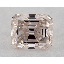1.41 Carat, Natural Fancy Light Pink, Emerald Cut, SI2 Clarity, GIA