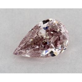 1.06 Carat, Natural Fancy Purple-Pink, Pear Shape, SI2 Clarity, GIA