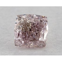 0.54 Carat, Natural Fancy Purple-Pink, Cushion Shape, VS2 Clarity, GIA