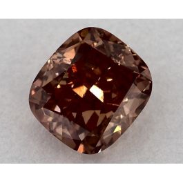 1.21 Carat, Natural Fancy Deep Pink-Brown, Cushion Shape, VS2 Clarity, GIA