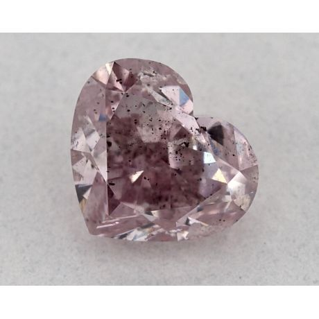 1.01 Carat, Natural Fancy Pink, Heart Shape, I1 Clarity, GIA
