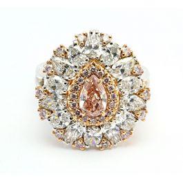 3.14ct Pink Diamond Ring