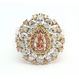 3.14ct Pink Diamond Ring