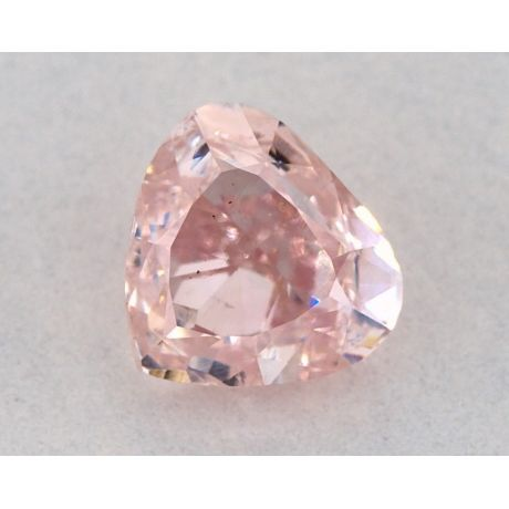 1.00 Carat, Natural Fancy Pink, SI1 Clarity, Heart Shape, GIA