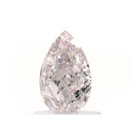 0.77 Carat, Natural Light Pink, Pear Shape, VVS2 Clarity, GIA