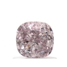 1.01 Carat, Natural Fancy Light Purplish Pink, Cushion Shape, SI2 Clarity, GIA
