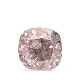 1.01 Carat, Natural Fancy Pink, Cushion Shape, SI2 Clarity, GIA