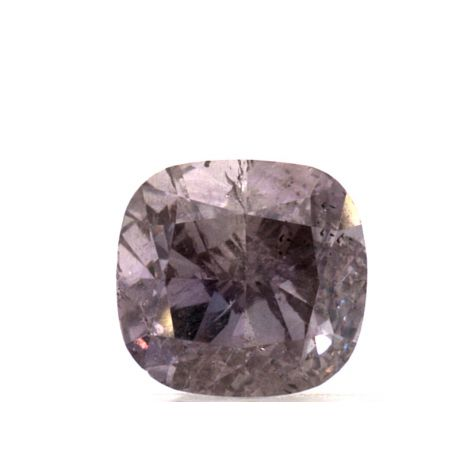 1.00 Carat, Natural Fancy Purplish Pink, Cushion Shape, I1 Clarity, GIA