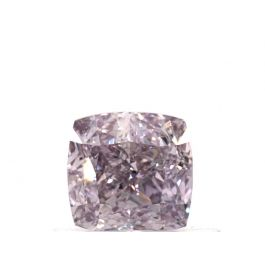 0.57 Carat, Natural Fancy Purple-Pink, Cushion Shape, VS1 Clarity, GIA