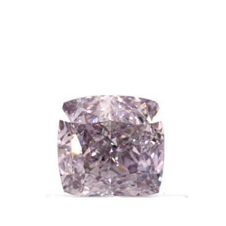 0.57 Carat, Natural Fancy Purple-Pink, Cushion Shape, VS1 Clarity, GIA