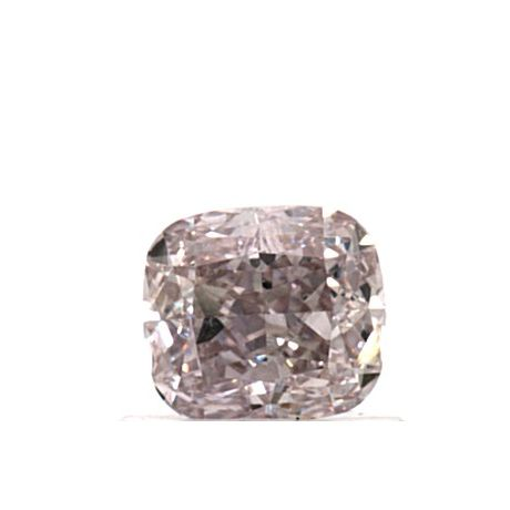 0.72 Carat, Natural Fancy Brownish Pink, Cushion Shape, VS1 Clarity, GIA
