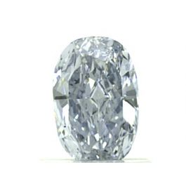 0.70 Carat, Natural Fancy Blue, Oval Shape, VS2 Clarity, GIA