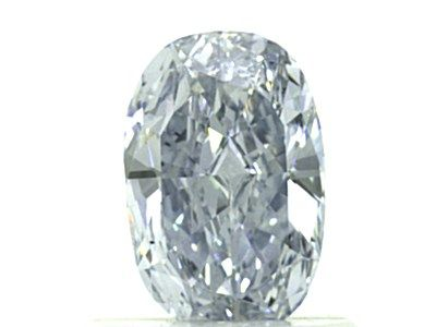 0.70 Carat, Natural Fancy Blue, VS2 Clarity, Oval Shape, GIA
