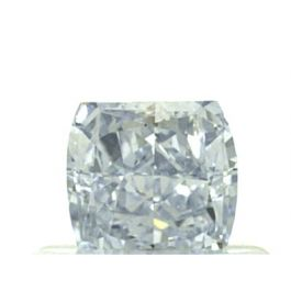 0.59 Carat, Natural Fancy Blue, VS1 Clarity, Radiant Shape, GIA