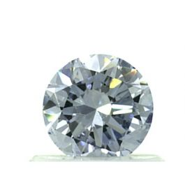 0.59 Carat, Natural Fancy Blue, SI1 Clarity, Round Shape, GIA