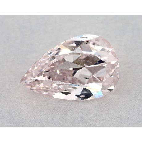 1.00 Carat, Natural Fancy Light Pink, SI2 Clarity, Pear Shape, GIA