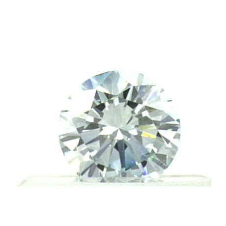 0.24 Carat, Natural Light Blue, VVS2 Clarity, Round Shape, GIA