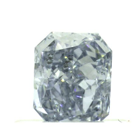 0.44ct, Fancy Intense Blue, Radiant, SI2 Clarity, GIA