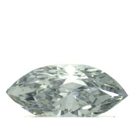 0.54 Carat, Fancy Grayish Blue, Marquise, SI2 Clarity, GIA