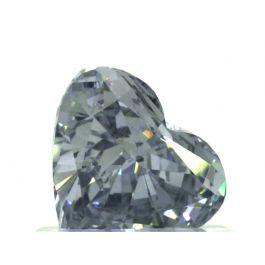 0.73 Carat, Fancy Intense Blue, Heart shape, VS2 Clarity, GIA