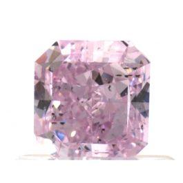 0.71 Carat, Fancy Intense Purple-Pink, SI2 Clarity, Radiant, GIA
