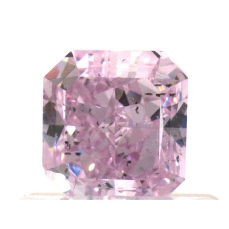 0.71 Carat, Fancy Intense Purple-Pink, SI2 Clarity, Radiant, GIA