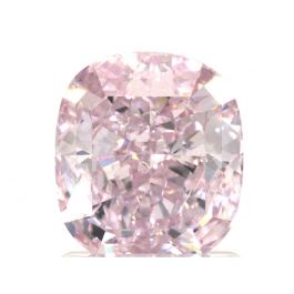 1.72 Carat, Fancy Purplish Pink, SI2 Clarity, Cushion, GIA