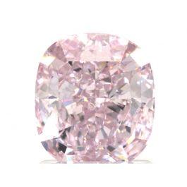 1.72 Carat, Fancy Purplish Pink, SI2 Clarity, Cushion, GIA