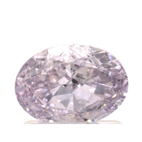 1.01 Carat, Fancy Pink-Purple, Oval, VS2 Clarity, GIA